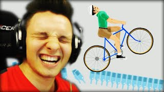 AUGEN ZU BOTTLERUN!! | Happy Wheels #88