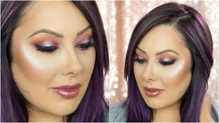 Purple & Coral Makeup Tutorial | Makeup Geek