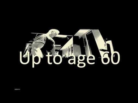 Up to age 60. - Teaser Nr 1. #Inspirational #Fitness