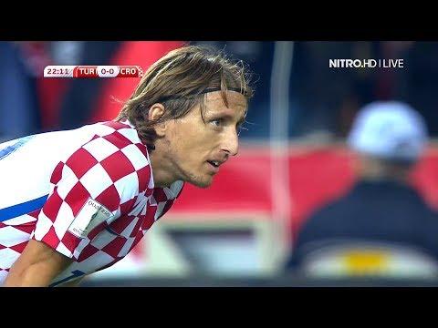 Luka Modric vs Turkey Away (05/09/2017) HD...