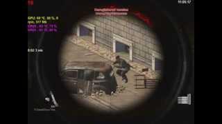 Sniper Elite V2 - NEW Insane Shot - Bouncing Bullets - X Ray Kill Cam