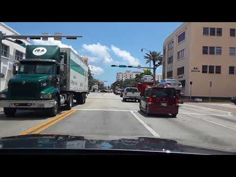 Miami, FL. Driving from Westchester to Little Havana