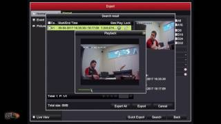 How to: Export footage directly from a Hikvision DVR Video