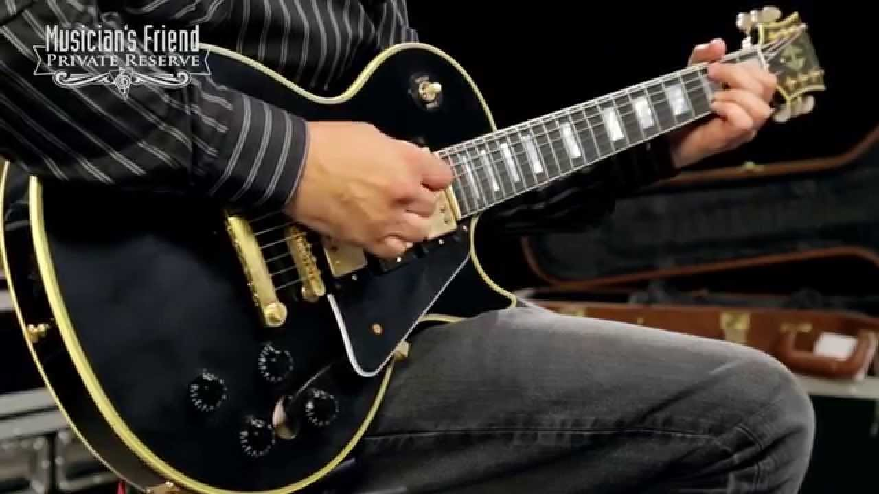 Gibson Es Les Paul Custom Limited Edition Black Beauty 3 Pickup Vos