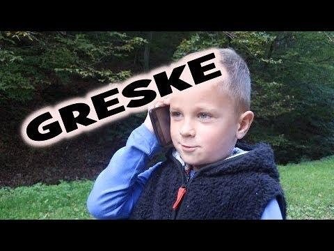 GRESKE SA SNIMANJA