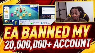 EA BANNED MY ACCOUNT...