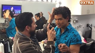 Mario Lopez Transforms into A.C. Slater for