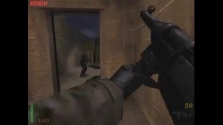 Wolfenstein: Iron Cross (аддон RTCW) Прохождение !Без ранений!