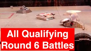 RC Combat Robot Wars - All Battles for Q6 - 2015 RC World Championships Qualifying Round