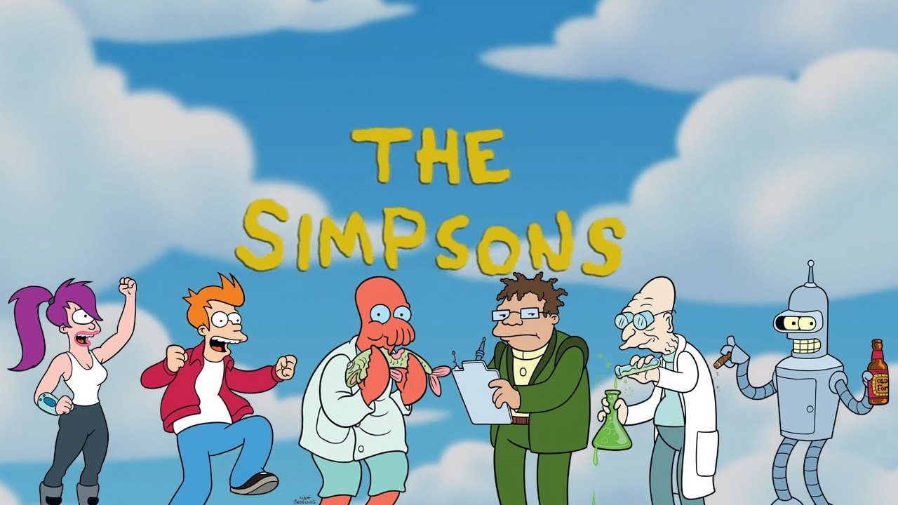 Futurama References in The Simpsons - YouTube   1280 x 720 jpeg 244kB