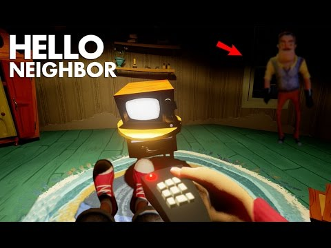 Moving Into The Neighbors House For FREE | Hello Neighbor (Alpha 3