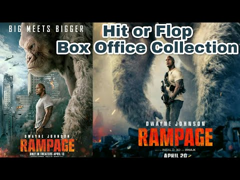 Rampage Worldwide Box Office Collection | 21th April 2018 | Rampage Collection