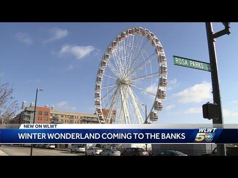 SHROOM - Snow Banks At The Banks Coming To Cincinnati This January