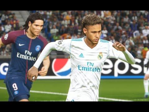 Neymar vs PSG - Gameplay PES 2018 Solo Superstar