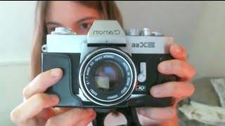 ASMR - Soft Spoken Show & Tell - Film Cameras