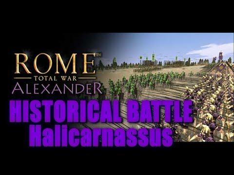 Battle of Halicarnassus - Rome Total War: Alexander