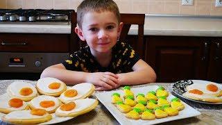 Простой рецепт ВКУСНОГО и КРАСИВОГО пасхального печенья ВЫПЕЧКА на ПАСХУ домашняя выпечка