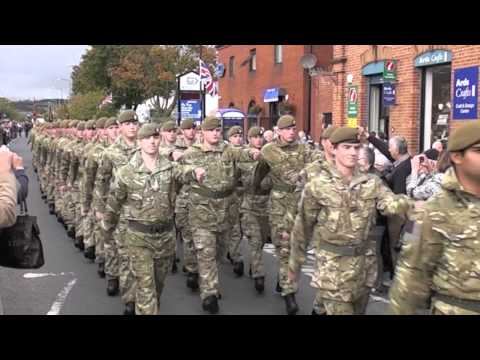 The Irish Guards In Newtownards