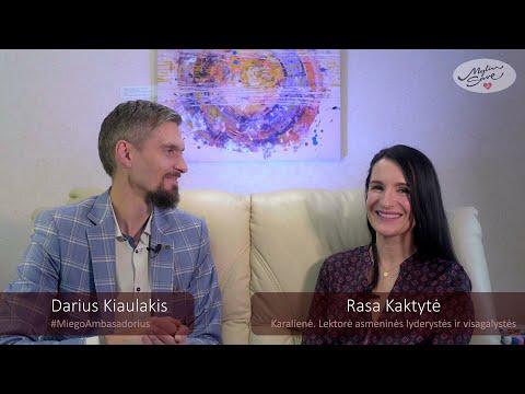 Rasa Kaktytė & Darius Kiaulakis - Myliu Save