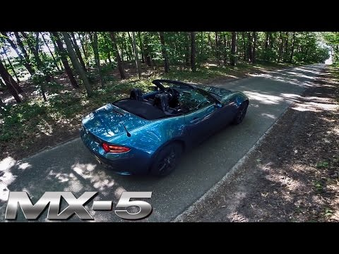 Mazda MX 5 2017 Review POV Test Drive