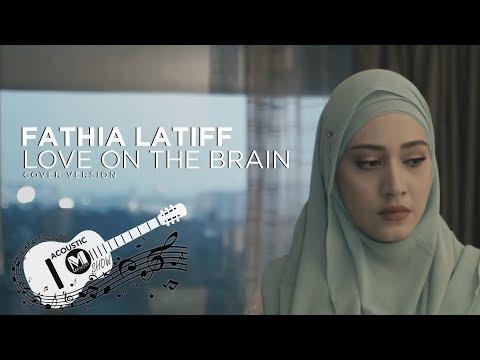 Fathia Latiff -Love on the brain (Cover) | Rihanna