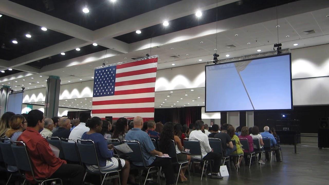 Citizenship Ceremony Los Angeles Convention Center  10/17/17