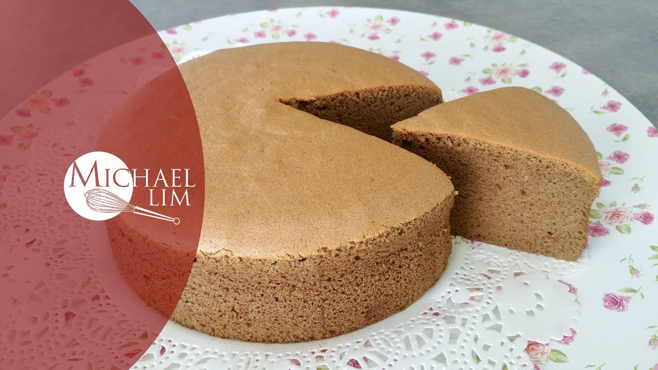Michael Lim Sponge Cake Recipe