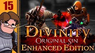Let's Play Divinity: Original Sin Enhanced Edition Co-op Part 15 - Arhu SparkMaster 5000 Boss Fight