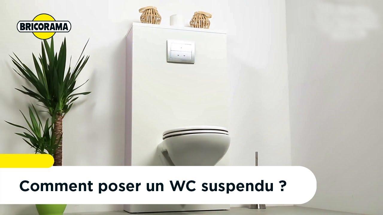 Coffrage Wc Suspendu Avec Rangement tuto poser un wc suspendu