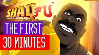 Shaq Fu: A Legend Reborn - The First 30 Minutes of Gameplay (PS4/XONE/SWITCH/PC)