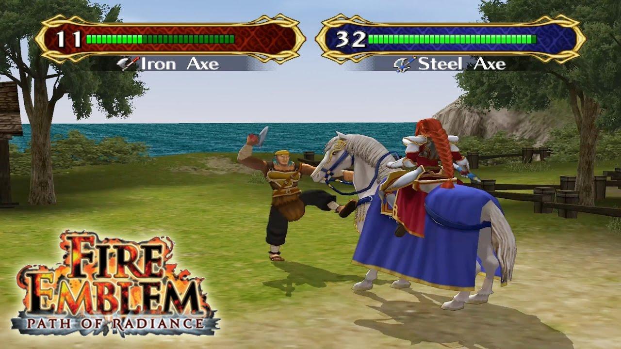 fire emblem path of radiance gamecube emulator