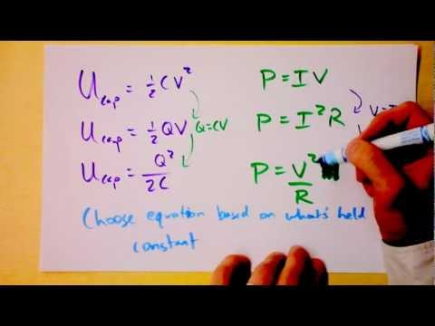 Energy and Power in Electric Circuits.  Joule Heating. | Doc Physics