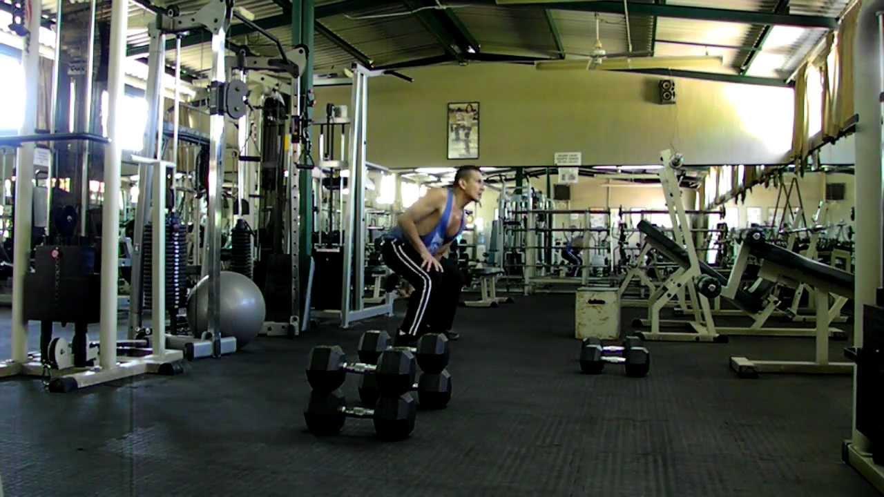 Cross fit en el Gym 5 Ejercicios HD.MOV - YouTube