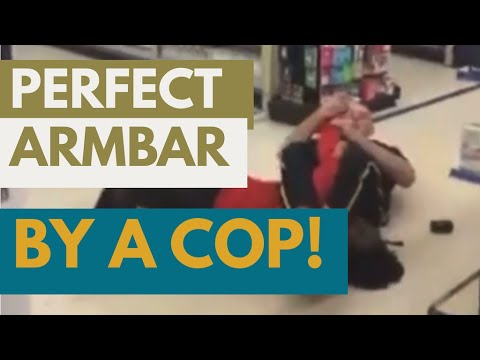 English #Police Video Tweets – This officer is so well trained in #BJJ he controls the suspect, doesn't use exc…