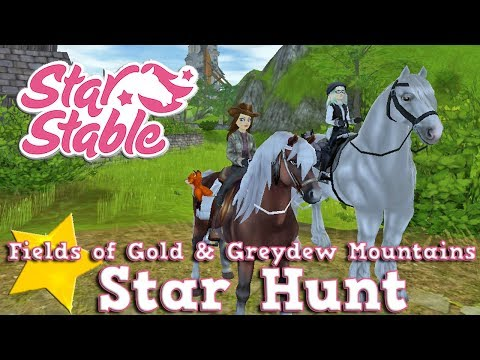 Star Hunt in the Fields of Gold and Greydew Mountains | Star Stable Online | w/ CollectibleAlexGames