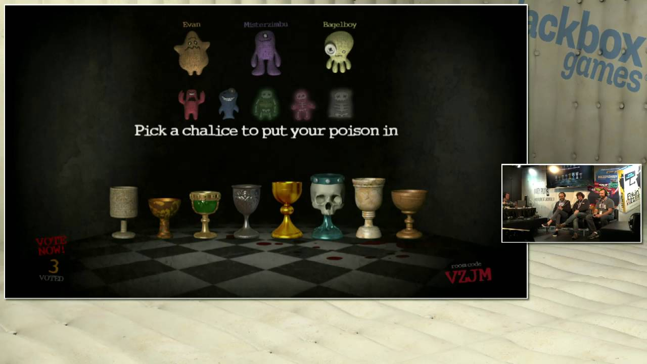 Jackbox Games @ TwitchCon: Pre-Show Trivia Murder Party ...