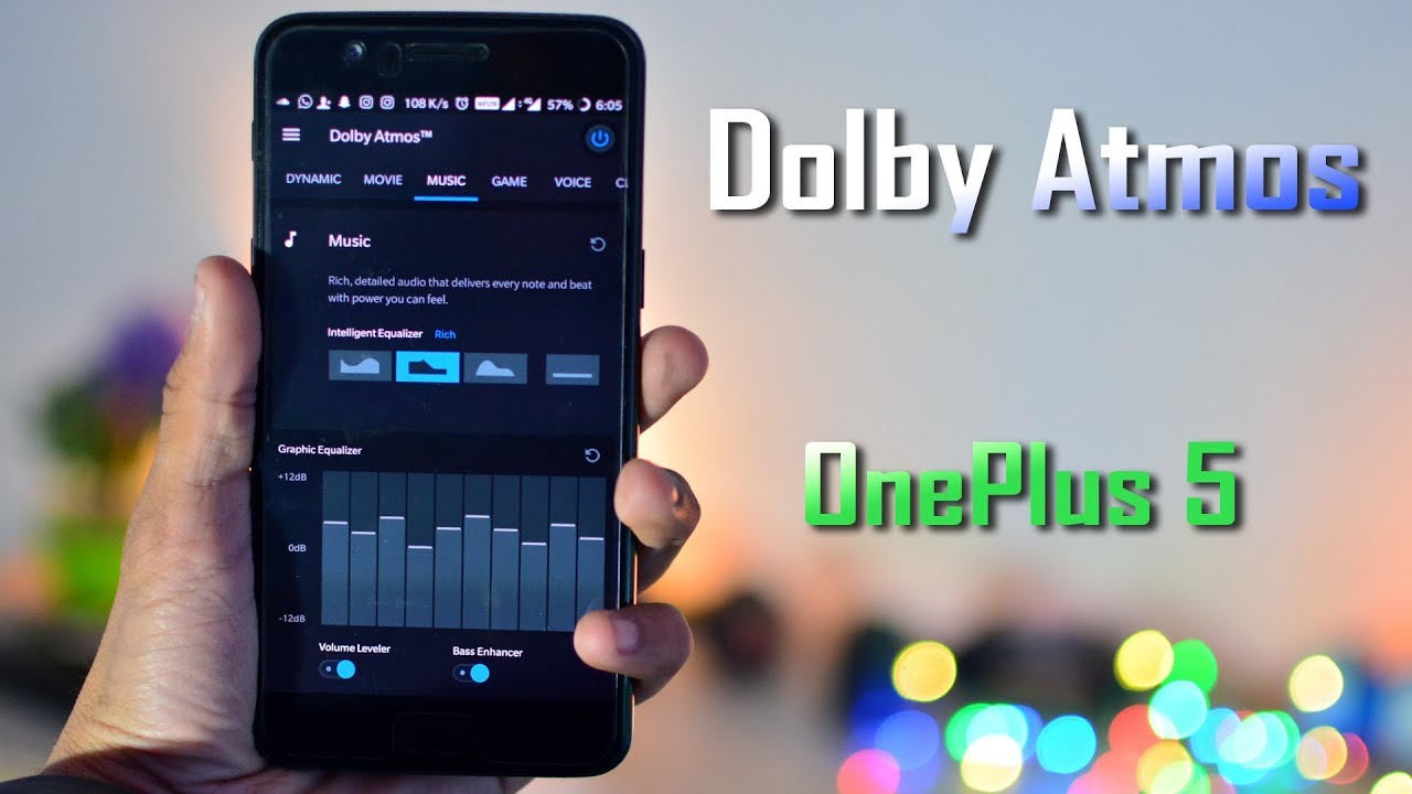 OnePlus 5 : How to Install Dolby Atmos in Oreo
