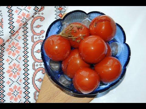 Квашенные помидоры с горчицей