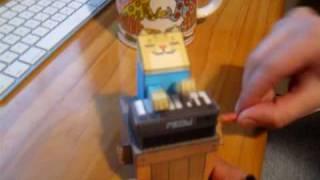 Papercraft Piano cat