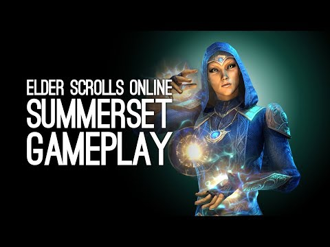 Elder Scrolls Online Summerset Gameplay: Let's Play TESO Summerset