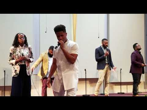 """16yr old Caleb Carroll and Tony Frost singing Tye Tribbett """"What Can I Do"""" Cover"""