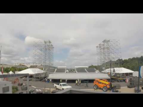 Musikfest Sands Steel Stage comes to life in time-lapse video
