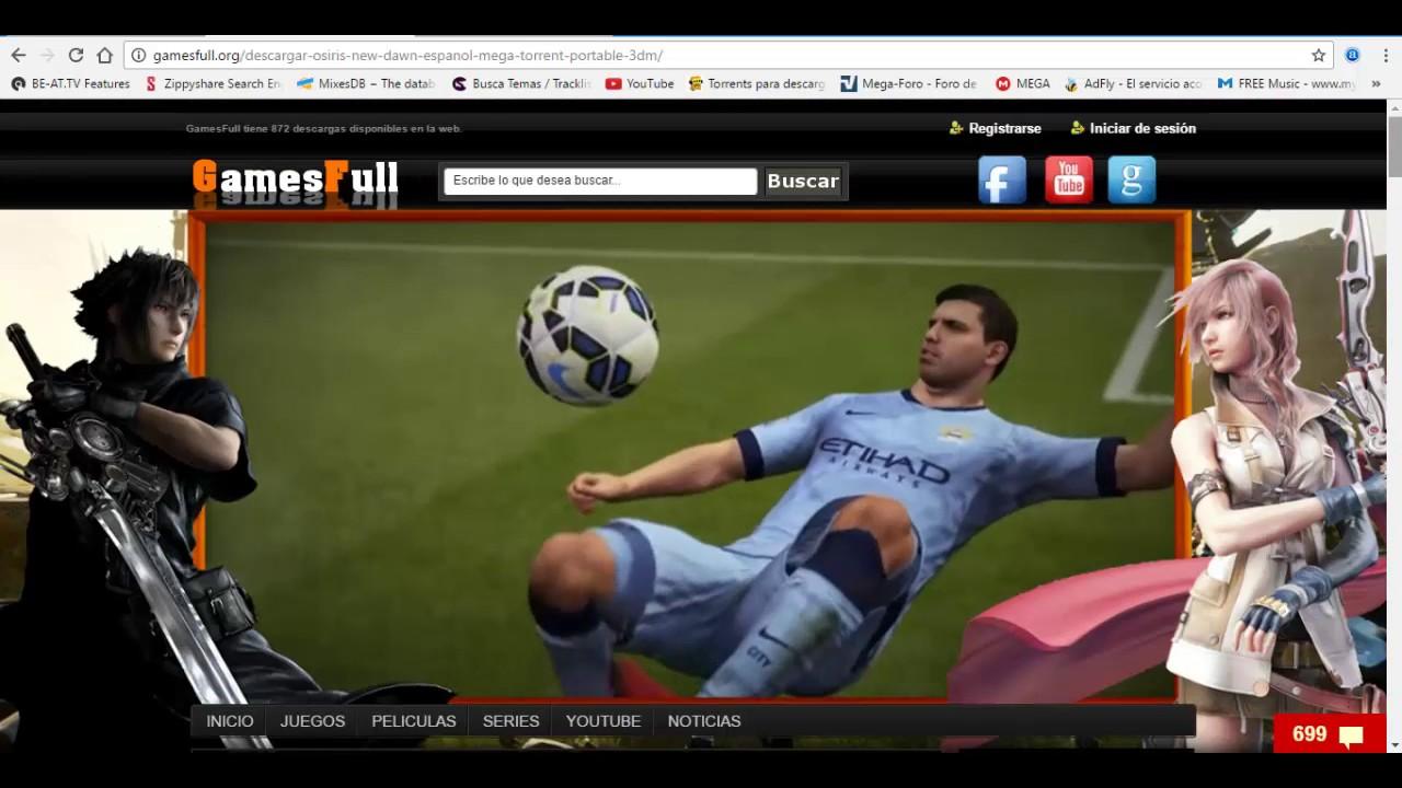 descargar juegos gratis para pc via utorrent