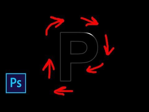 Анимация перемещения блика по объекту в фотошопе