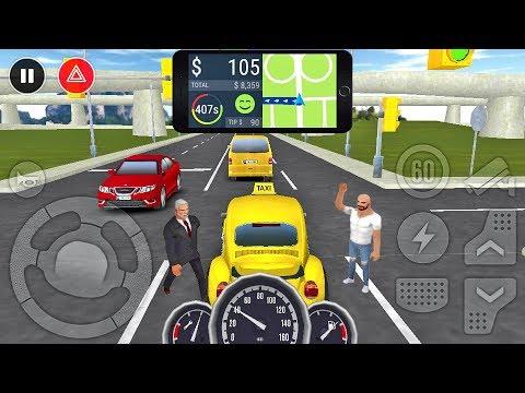 Taxi Game 2 # 10 - Симулятор вождения от Baklabs - геймплей для Android