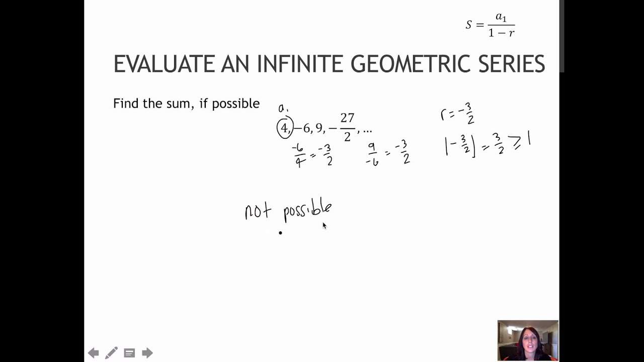 Sum of infinite series pdf995