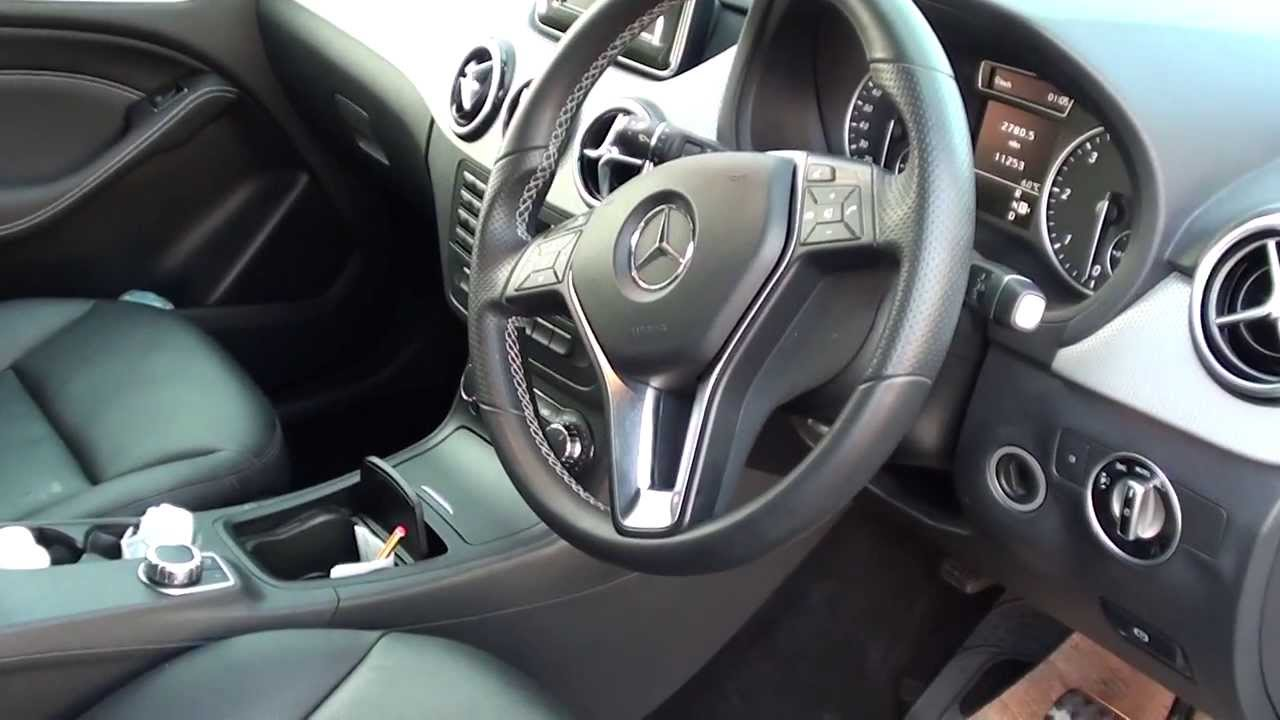 Mercedes B Class W246 Diagnostic Port Location Video Youtube