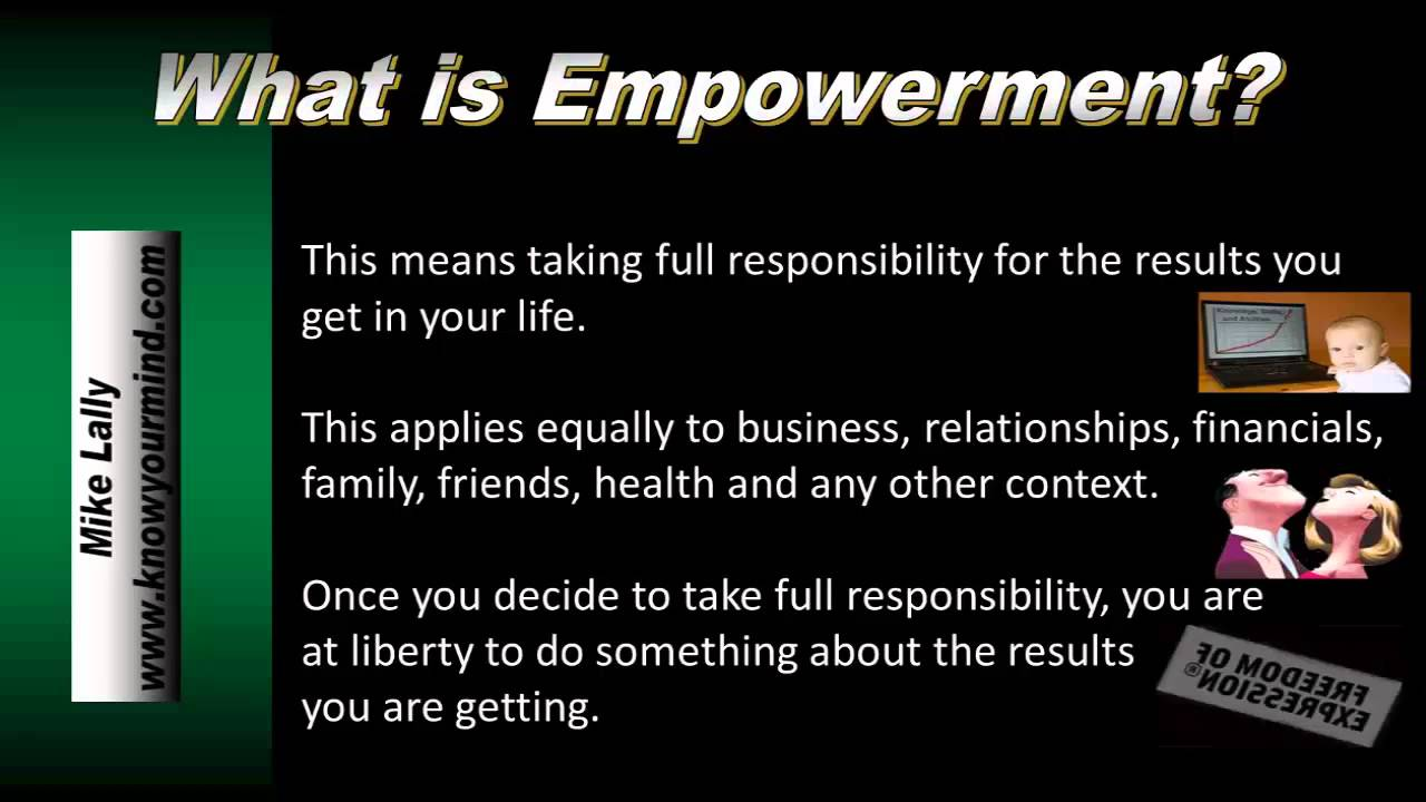 What is Empowerment  YouTube