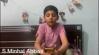 Nara Ali Da In The Voice Of S.Minhal Abbas | Manqbat 2021-1442