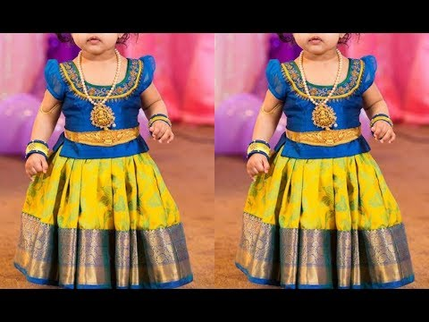 Latest Kids Lehenga Choli Designs 2019